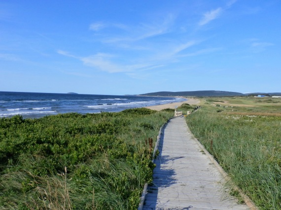 Public boardwalk, Inverness, Cape Breton